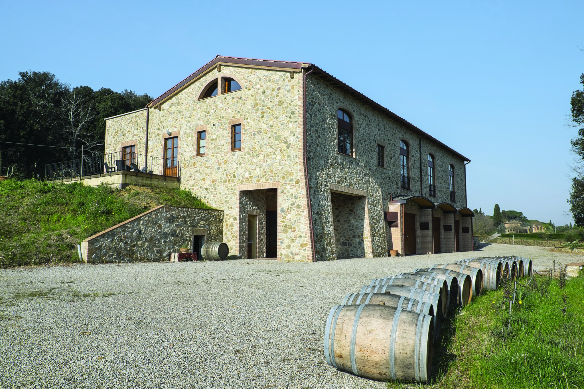 Winemaking and aging
